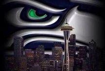 Ka-Kaaaaaaw! / 12th Man Pride - Go Hawks!! / by Amy Tate
