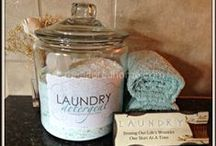 Homemade With Love / DIY, homemade laundry soaps, dishwasher detergent, hand soap, face cream, lotions,