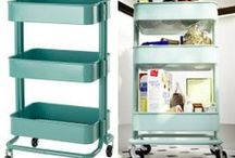 A`la carte  / Creative carts for function and organizing  / by Barbara Massey