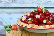 Strawberry Recipes / Strawberries, strawberries, and more strawberries! You'll find creative and fun recipes with this berry delicious fruit. / by Catherine McCord