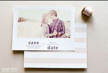 Save The Date Announcements / Great ways to let your guests know about the big day!