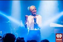 Album Release Party with Mary J Blige / Mary J. Blige performs at the iHeartRadio Theater on December 2, 2014 in New York City, NY.  / by iHeartRadio