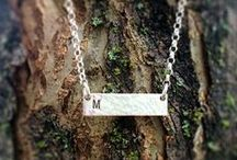 New Jewelry - Hand Stamped / New jewelry pieces... fresh, hot, NOW! mom gifts they'll never take off