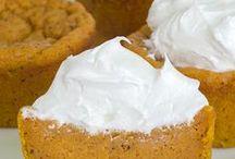 Pumpkin Desserts