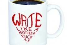 The Write Stuff in the Write Space / feeding my obsession with pens, paper, lists, journals, calendars, the written word...and the cozy places I want to curl up with them.  / by Christie