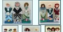 My Victorian Dolls / Victorian cloth and wood art doll patterns, e-patterns, and handmade doll designs by Linda Walsh and Linda Walsh Originals - LindaWalshOriginals.com, Lindawalshoriginalsshop.com