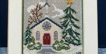 Cross-stitch Creations I've Made / I just love cross-stitch and find it to be so relaxing.  I hope you enjoy some of the cross-stitch creations I have made over the years.
