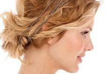 wedding hair for me and bridesmaids / by Christina Carneiro