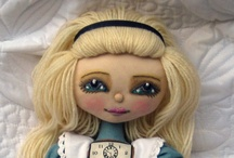 Doll Pattern Designers & Doll Patterns / I just love handmade dolls.  These are some of my favorite doll pattern designers and doll patterns I'd like to try.