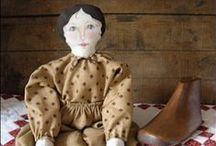 """Best Free Craft - Dolls / """"The Best FREE Craft Articles"""" has the best craft articles on the web written by the best artists and crafters on the web.  I'd love to make some of these dolls. / by Linda Walsh"""