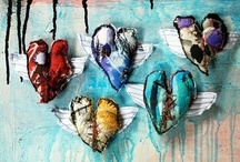 """Best Free Craft - Mixed Media / """"The Best FREE Craft Articles"""" has the best craft articles on the web written by the best artists and crafters on the web.  All about mixed media and textiles. / by Linda Walsh"""