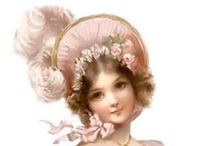 Victorian Graphic Images, Vintage Images and Ephemera / I just LOVE Victorian images, ephemera and vintage pictures - especially Victorian images that I can use with my mixed media creations and pictures of flowers or little girls and their dolls.  Here's a few of my favorites.