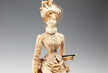 French Fashion Doll Collection  / According to the Metropolitan Museum of Art - This collection is a unique representation of  the evolution of French fashion from 1705 to 1909.  Please visit http://www.metmuseum.org or click on any of the images below for more information on this amazing collection.
