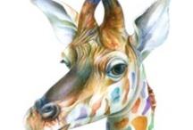 Giraffe Love / by Clare Hanny