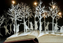 Book Art Sculpture & Tutorials, Video's and How-To's For Making Book Art / I just LOVE books and find book sculpture to be amazing.  I would love to learn how to do this.  When I do I hope the tutorials, video's and how-to's will be helpful.