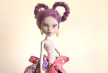 Customized Doll Creations / I'm not quite sure what to say about customized dolls.  Seems to be the latest craze in the doll world - especially where Barbie, Blythe and Monster dolls are concerned. / by Linda Walsh