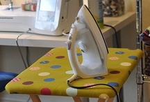 Sewing Room Ideas / Inspiration for your sewing room / by Built by Briick Quilting