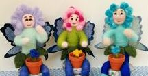 Needle Felt Creations I've Made / I just LOVE to needle felt and find it very relaxing.  I hope you enjoy seeing some of my needle felt doll & craft creations.