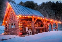 Country Cabin Christmas / by Stacy Amsberg
