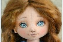 Doll Making Tutorials, Video's, Patterns and How-To's / I just LOVE making dolls and finding tutorials, patterns, articles, projects, and how-to's for making dolls.  I hope you enjoy what I've found.  Happy doll making.