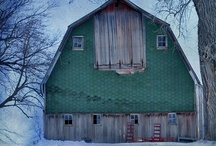 Old Barns-Farms and Chicken Coops / by Stacy Amsberg
