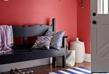 Red Room and Home Decor Inspiration / Red room inspiration, paint colors, trends, ideas and fabrics. You'll also find DIY furniture and home decor tutorials, and craft and sewing how-tos.  / by OnlineFabricStore