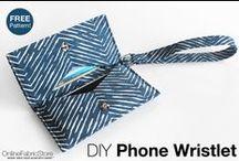 DIY Handbags & Purse Tutorials / Stylish DIY handbags and purse Tutorials sewn with fabric