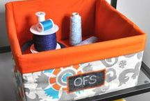 Craft Room Organization, Inspiration and Crafting Ideas / Craft room style inspiration, storage, and organization. We also include cute crafting ideas that use fabric, paint and mod podge.  / by OnlineFabricStore