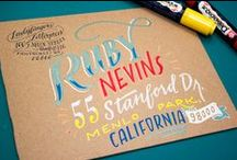 Design: card/invitation / Cards, invitations, letters, envelopes / by Meredith Morrow
