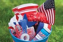 Patriotic Holidays and Celebrations / Inspiration for your Memorial Day, Fourth of July, and Labor Day celebrations!