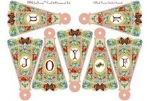 E-Printables and Crafts Printables / I just love crafts and love crafts e-printables. I hope you like my selection of e-printables, some bought, some created, and some on my wishlist and some of the crafts e-printables websites I've found.