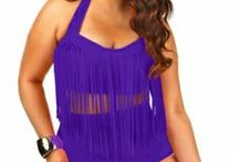 Plus Size Swimwear /swimsuits  2014 / by My curves and curls