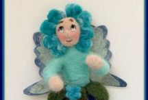 Gotta Love Fairies, Gnomes, and Elves / I just LOVE fairies and have since I was a little girl.  I hope you like my selection of adorable fairies, gnomes, elves, etc. / by Linda Walsh