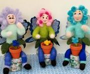 Fairy, Gnome, Bendy and Elf Creations / I just LOVE fairies and have since I was a little girl.  I hope you like my selection of adorable fairies, gnomes, elves, etc.