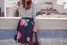 Outfit: warmer weather (dress/skirt) / by Meredith Morrow