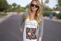 Outfit: warmer weather / by Meredith Morrow