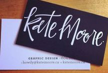 Design: business card / by Meredith Morrow