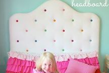 Girl's Bedroom Inspiration / by OnlineFabricStore