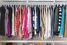 Organize: closet / by Meredith Morrow