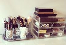 Organize: makeup & jewelry / by Meredith Morrow