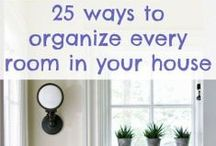 Cleaning & Organizing Ideas / Cleaning and organization