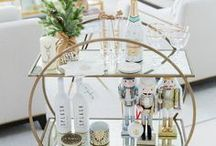 BAR CART STYLING / How to style your home bar cart.. Find tons of inspiration here