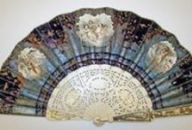 Beautiful Fans Through The Ages / Who can resist a woman wearing a beautiful Rococo, Edwardian, or Victorian dress holding a beautiful fan.  I would love to see some of these fans.  They're just beautiful works of art all unto themselves - don't you think?