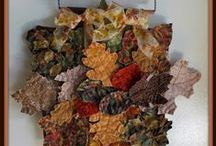 3D Quilted Art  Creations / I've fallen in love with 3D art quilts - especially mini quilts.  Here's some of my favorites.
