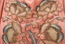 Beautiful Embroidery Designs Through The Ages / How can you not be in awe of beautiful clothing and accessoruies embroidery designs?  Wow!