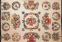 Victorian Quilts & Historic Period Handmade Quilts / I love creating quilts and can't imagine how long it took to hand quilt some of the images on this page.  They are astonishing and I hope you would agree.