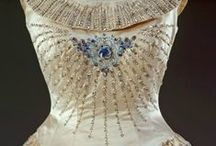 Beautiful Beaded Embroidery Through the Ages / I for one am fascinated by unbelievable beautiful beaded embroidery designs. I can't image how long it took to embroider all the beads on these astonishing creations. Simply amazing.