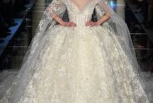 Beautiful Wedding Dresses Through The Ages / I absolutely LOVE beautiful wedding dresses - especially those of the Victorian kind or elaborately decorated with beautiful embroidery or beads.  Here's some of my favorites.