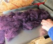 Dyeing Fabric, Yarn,Wool,Alpaca,Ribbon & Thread Tutorials, Video's and How-To's / Last year my sister, who is an alpaca farmer, showed me how she dyes her alpaca fiber.  It was a lot of work, but a lot of fun.   If you would like to learn how to dye yarn, wool, alpaca fiber, etc. hopefully these tutorials, video's and how-to's will be helpful.