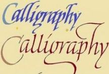 Calligraphy Tutorials, Video's and How-To's / I would love to learn calligraphy.   If you would, too pictures perhaps these tutorials, video's and how-to's will be helpful.